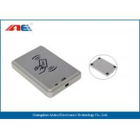 Non Contact USB RFID Reader Smart Card Scanner With Free Software Manufactures
