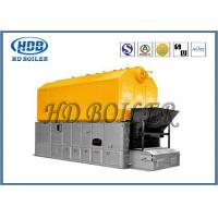 Double Chain Coal Fired Hot Water Boiler , High Efficiency Steam Boiler SZL Type Manufactures