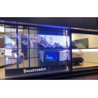 HD Video P3.9mm X 7.8mm Transparent LED Display For Glass Window Screen Manufactures