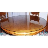 Modern Appearance and No Folded round glass table top Manufactures