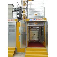 Vertical Transportation Construction Man Lift Payload Capacity 3000Kg Lifting Speed 0–60 M/Min for sale