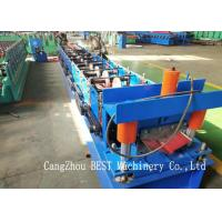Buy cheap Ridge Cap Cold Making Roll Forming Machine With PLC Control 380V50HZ from wholesalers