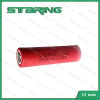 China supplier rechargeable  LGDBHE2 18650 2500mAh 3.7V battery  for nitecore 18650 Manufactures