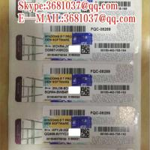 COA STICKER Windows 7 Product Key Code 32 Bit OEM Vollversion English Language Manufactures