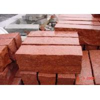 Red Natural Paving Stones Tile For Stair Steps / Countertop Granite Material Manufactures