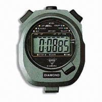 Electronic Quartz Chronograph Watch with One-section Memory Manufactures
