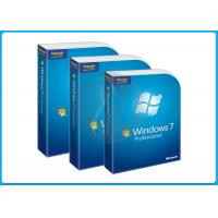 China Microsoft Windows 7 Pro Retail Box Windows 7 professional Operating Systems on sale