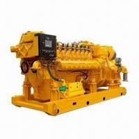 China Natural Gas Series Generator Set with 400/230V Voltage and 50Hz Frequency on sale