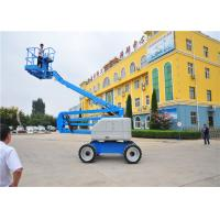 Buy cheap Professional Design Electric Articulating Boom Lift Double Controllers Sompact from wholesalers