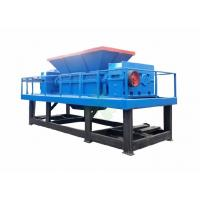 Multifunctional Double Shaft Waste Plastic Shredder / Crushing Machine 3.5 Don Manufactures