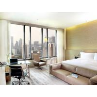 Fashion Apartment Hotel Room Furniture Wooden Headboard with Storage Bed and