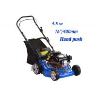 Small hand push lawn mower with 400mm cutting width