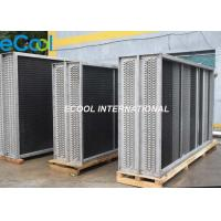 AHU Cooling Coil , Air Conditioner Stainless Steel Fin and Tube Heat Exchanger Manufactures