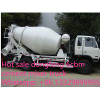 China dongfeng 153 yuchai 4*2 LHD/RHD 180hp 6cbm 4*2 small concrete mixer truck for sale. Best price cement mixer truck on sale