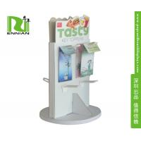 Spinning Shop Display Fittings Spinner Display Racks With Moveable base Manufactures