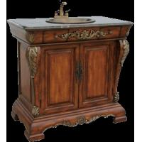 Solid Wood Bathroom Vanity with marble countertop (model number tsvc2040) Manufactures