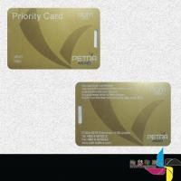 China Eco Friendly Blank Membership Cards PVC , Student Credit Card Printing on sale