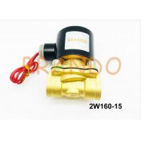 China 1/2'' Direct Drive Pneumatic Solenoid Valve 2W160-15 For Water Treatment on sale
