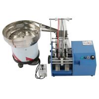 Bulk Resistor Lead Forming Machine , Automatic Feeding And Forming Resistor Legs Manufactures