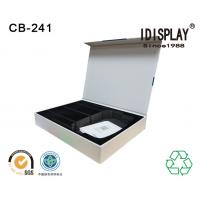 China Recyclable Magnetic Closure Cardboard Box Packaging Perfume Sponge And Eva Foam Insert on sale