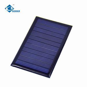 China 5.5V 0.4W risen energy solar panels for solar vehicle ZW-745458 mini solar photovoltaic panels on sale