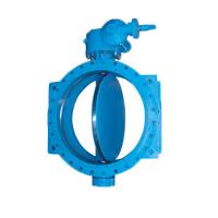 Resilient Seated Electric Motor Operated Valve Double Eccentric Flanged End Manufactures