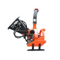 Residential Tree Chippers And Shredders With Self Contained Hydraulic Pump / Bank Manufactures
