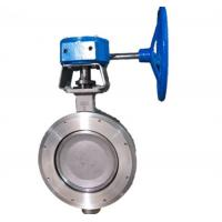 China High Performance Wafer Double Flanged Butterfly Valve on sale