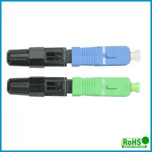 Waterproof Multimode Fiber Lc Connector / Simplex Fiber Optic Connector Manufactures