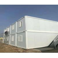 White 20ft Modular Container House / Homes Aluminum - Zinc Color Steel Sheet Manufactures