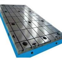 China Work Bed Table Machine Bed Surface Plate  With Tee Nut Stable Performance on sale