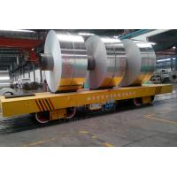 Flatbed Large Workpiece Coil Transfer Cart For Building Construction Busbar Power Manufactures