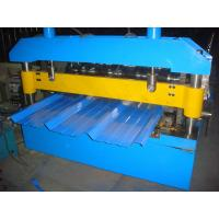 China 45# High Grade Steel Roof Panel Roll Forming Machine 12 Months Warranty 7.5KW on sale