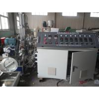 Waste Recycled Water Ring Spaghetti Plastic Granules Machine , Double Stage Pellet Extruder Manufactures