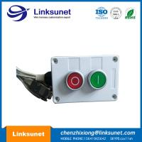 Buy cheap Two Holes Custom Wiring Harness Processing Plastic Push Button Control Box from wholesalers