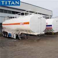 China Used & New Tri Axle Petrol Fuel Tanker Semi Trailer Manufacturers on sale
