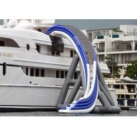 Commercial Grade Inflatable Water Slide ,  Inflatable Yacht Ship Slide For Water Sport Manufactures