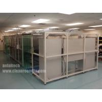 Hard wall/soft wall clean room Modular cleanroom China for sale