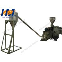 65kW Plastic Granules Making Machine Double Screw For PP PE Recycling Film Manufactures