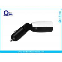Quality 45- Degree Flexible Phone Car Charger 4.8A 2 x USB output and LED Screen Display for sale