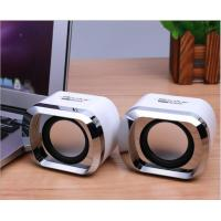 Plating Shell Wireless Bookshelf Speakers Dual Channel With Stereo Jack / USB Power Plug Manufactures