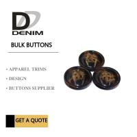 Trim & Polyester Large Coat Buttons , Sourcing Unique Buttons For Clothing Manufactures