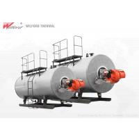 China Food Industry Oil Fired Hot Water Boiler 600000 - 1200000kcal Three Return Structure on sale