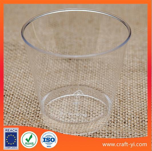Quality ice cream cone plastic cups hard plastic  in transparent colour for sale