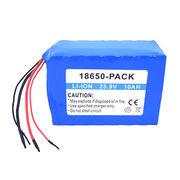 Lithium-ion battery pack, 25.9V/10Ah, soft pack, 18650 cell UL 1642 CE comply Manufactures