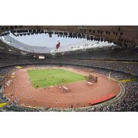 China Outdoor Rubber Running Track Flooring Athletic Track Surfaces with IAAF Certificated on sale
