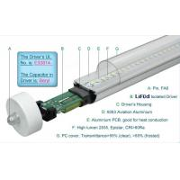 1800LM Epistar 4 Foot T8 LED Tube Lights 19W Fa8 Single Pin , LED T8 Replacement Tubes Manufactures