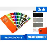 Professional 210 Colors Ral Color Cards , Paint Shade Card 5 * 15cm Chart Size Manufactures
