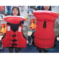 China EPE Fashionable Marine Life Jackets With 3m Reflective Tape on sale