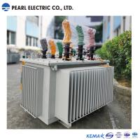 High Efficiency Amorphous Alloy Transformer In Oil Type 200 Kva , 10 Kv Manufactures